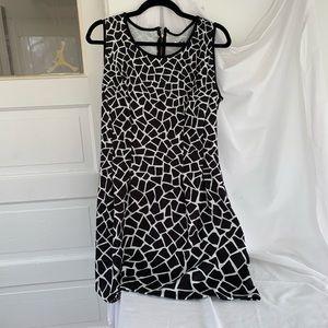Desigual black & white dress